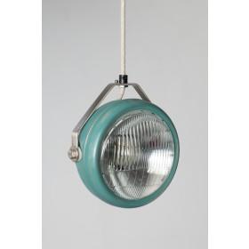 Hanglamp Industrieel Koplamp No.5 Aqua