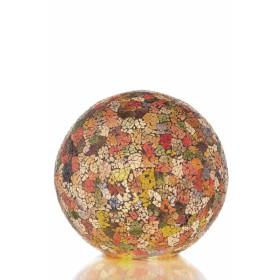 Tafellamp Carglass Staande Bol Multi Color 30 cm (1)