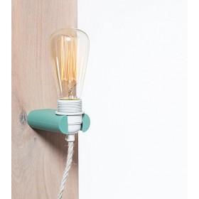 Wandlamp Industrieel No.16 Turquoise