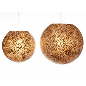 Hanglamp Wangi Goud Bol 40 cm