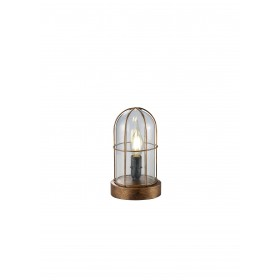 Tafellamp Vintage Birte Brons