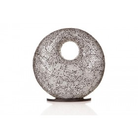 Tafellamp Carglass Donut Wit