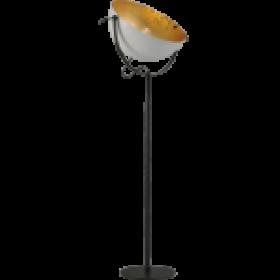 Vloerlamp Larino White Goldleaf Masterlight