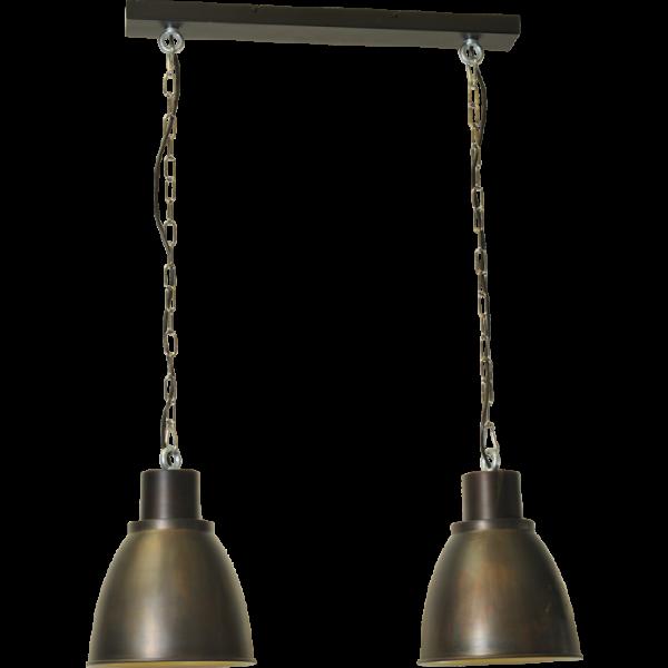 Hanglamp Industria Gunmetal White Masterlight 2007-30-H-70-2