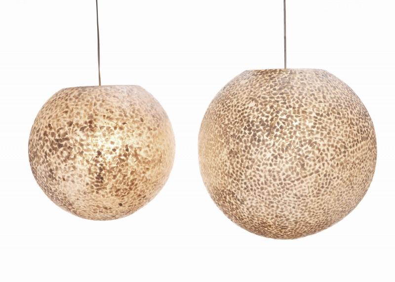 Hanglamp schelpen verlichting hanglamp for Bol com verlichting