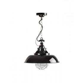 Hanglamp Industrieel Consenza Zwart