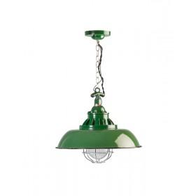 Hanglamp Industrieel Consenza Groen