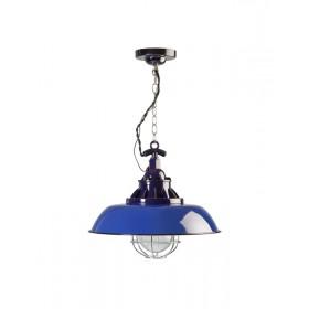 Hanglamp Industrieel Consenza Blauw