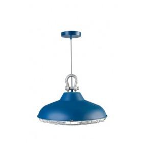 Hanglamp Industry Blauw