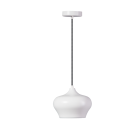 Hanglamp Ajaccio B Mat Wit
