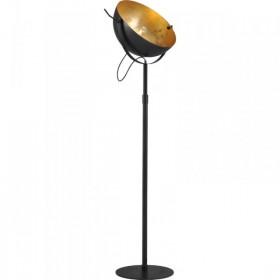 Vloerlamp Larino Zwart Goldleaf 50 cm Masterlight