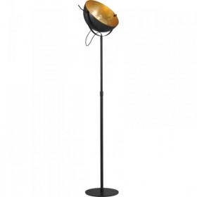 Vloerlamp Larino  50 cm Hoog 215 cm Zwart Goldleaf Masterlight