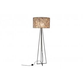 Vloerlamp Wangi Gold met kap 55 cm