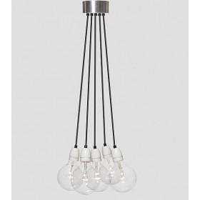 Hanglamp Industrieel No.8 bundel 5-lichts