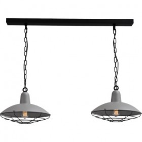 Hanglamp Concrete Look Industria Masterlight 2013-00-C-100-2