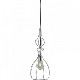 Hanglamp Shiny Nickel Caged Pear Concepto Masterlight 2017-07-22