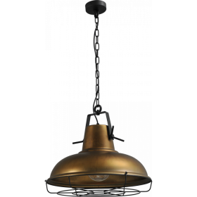 Hanglamp Antik Brass Industria Masterlight 2047-20-B-C-K