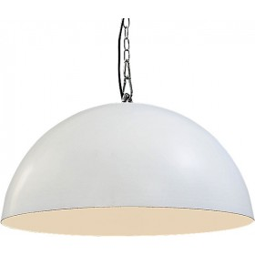 Hanglamp Industrieel Larino white/white 60cm met ketting