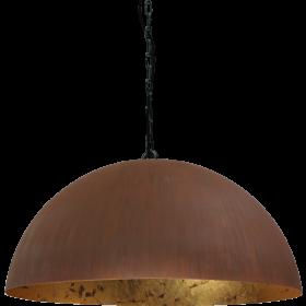 Hanglamp Larino Rust Goldleaf Masterlight 80 cm
