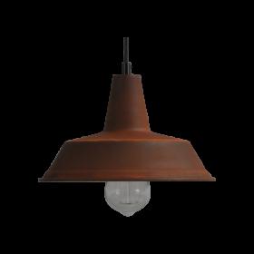 Hanglamp 25 cm Prato Rust Masterlight.