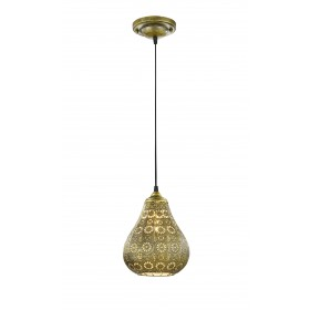Hanglamp Vintage Jasmin Goud