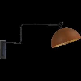 Wandlamp Larino Rust Goldleaf Masterlight