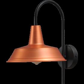 Wandlamp 25 cm Prato Copper Masterlight.