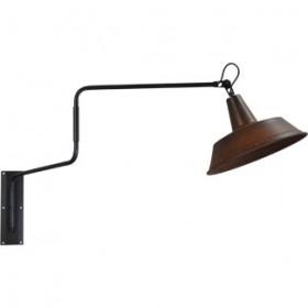 Wandlamp 35 cm Prato Rust Masterlight.