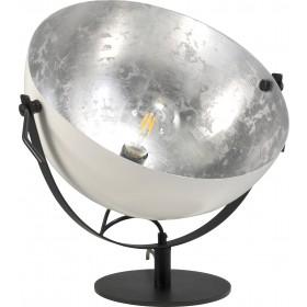 Tafellamp Larino White Silverleaf 40 cm Masterlight