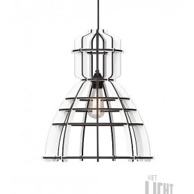 Hanglamp Industrieel No.19 Wit