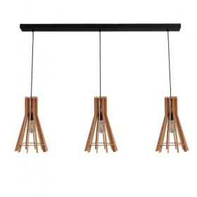 Hanglamp Wooden Fins Masterlight 2270-25-130-3