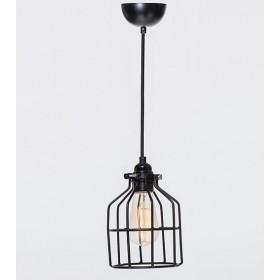 Hanglamp Industrieel Kooi No.15 Zwart