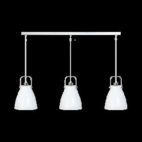 Hanglamp Acate 3-lichts Strak Wit