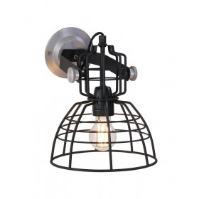 Wandlamp Mark Wall Zwart Anne Lighting 7875ZW