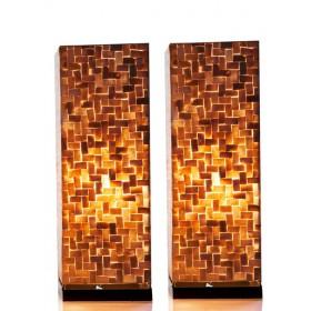Tafellamp Bima 30 cm set van 2