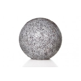 Tafellamp Carglass Staande Bol Wit 40 cm