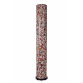 Vloerlamp Glas Multicolor Cilinder 150 cm
