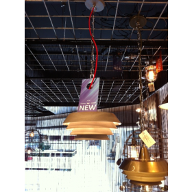 Hanglamp Bitonto Vintage Grijs