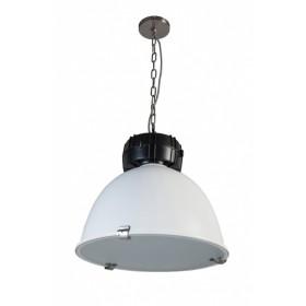 Hanglamp High Bay Wit/Zwart 48 cm