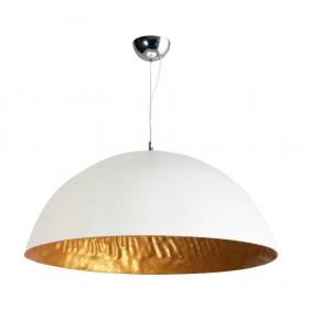 Hanglamp Mezzo Tondo Goud/Wit 70 cm