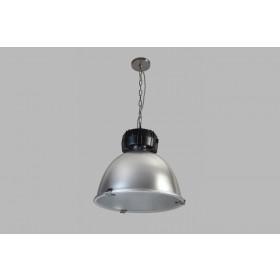 Hanglamp High Bay Aluminium/Zwart 48 cm