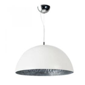 Hanglamp Mezzo Tondo Zilver/Wit 50 cm