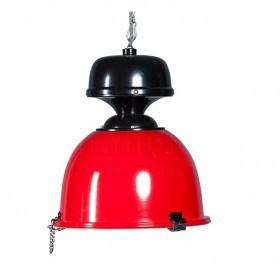 Hanglamp Nicolao Rood/Zwart 31 cm