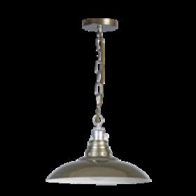 Hanglamp Fasano Groen/Grijs 37 cm