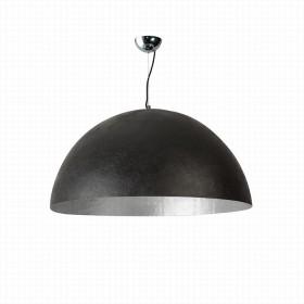 Hanglamp Mezzo Tondo Zilver/Zwart 50 cm