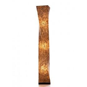 Vloerlamp Wangi Goud Twisty 150 cm