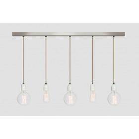 Hanglamp Industrieel No.12 balk 5-lichts