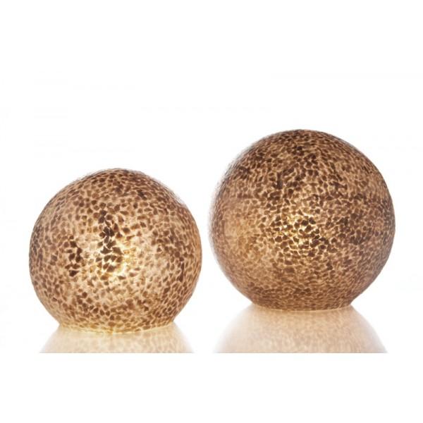 Tafellamp Wangi Gold Staande bol 30 cm