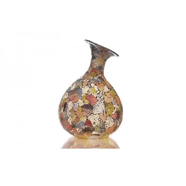 Tafellamp Glass Multicolor Vaas
