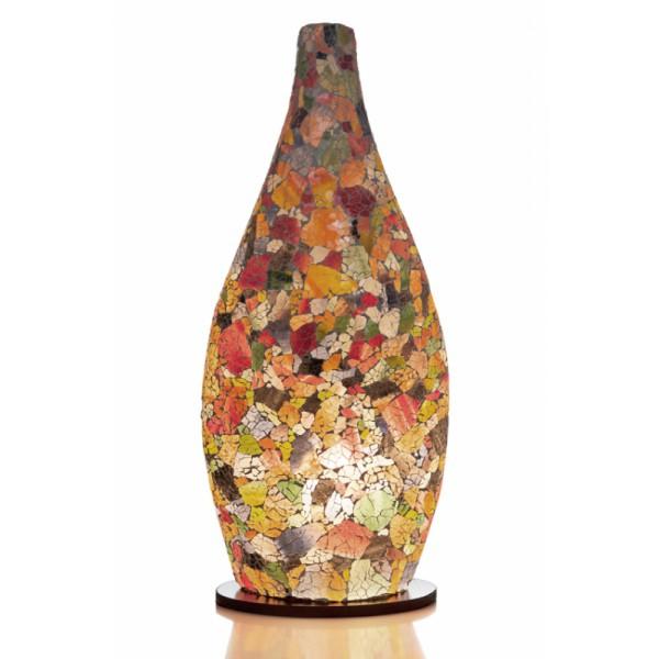 Tafellamp Carglass Bottle Multi Color (1)